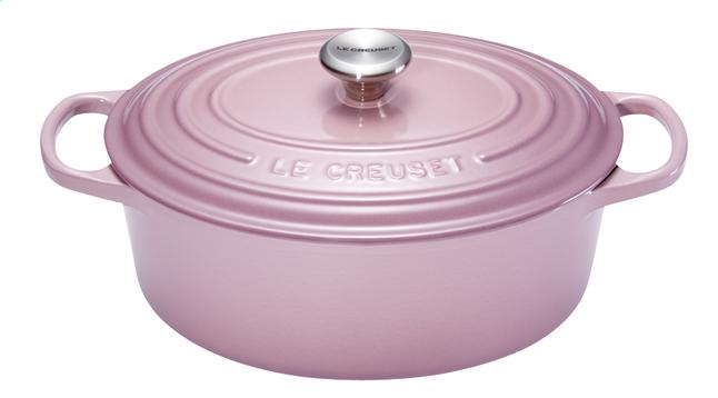 Image pour Le Creuset cocotte ovale Signature mauve Pink 29 cm - 4,7 l à partir de ColliShop