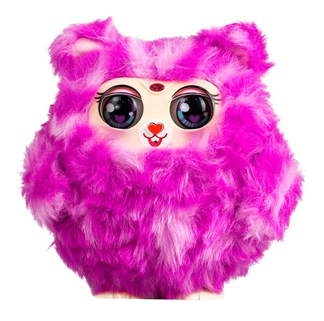 Silverlit peluche interactive Tiny Furries Mama Furry rose
