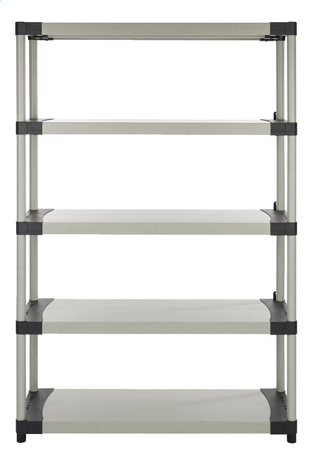 Image pour Practo Home Étagère de rangement Plasti Rack 120 gris à partir de ColliShop
