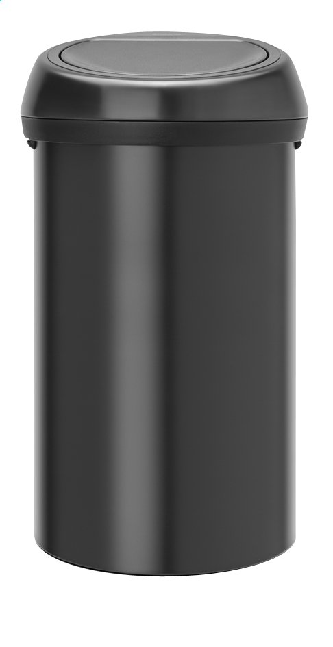 Afbeelding van Brabantia Afvalemmer Touch Bin zwart 60 l from ColliShop