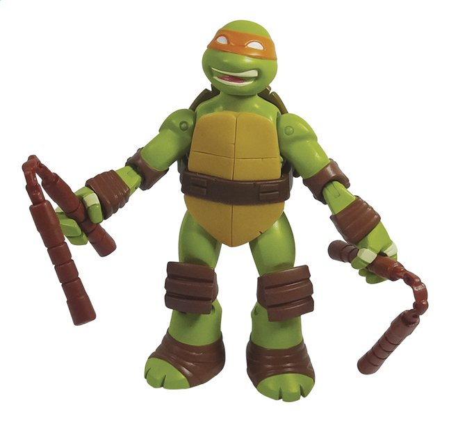 Image pour Figurine Les Tortues Ninja Battle Shell Michelangelo à partir de ColliShop