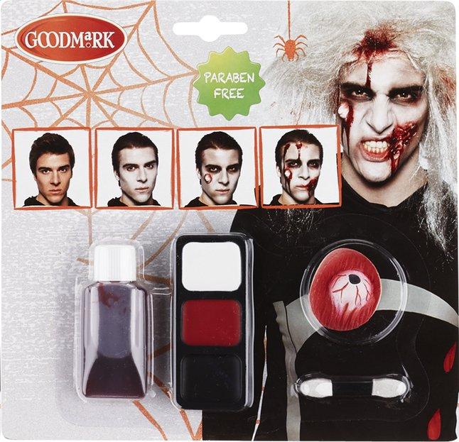 Image pour Maquillage zombie pour hommes à partir de ColliShop