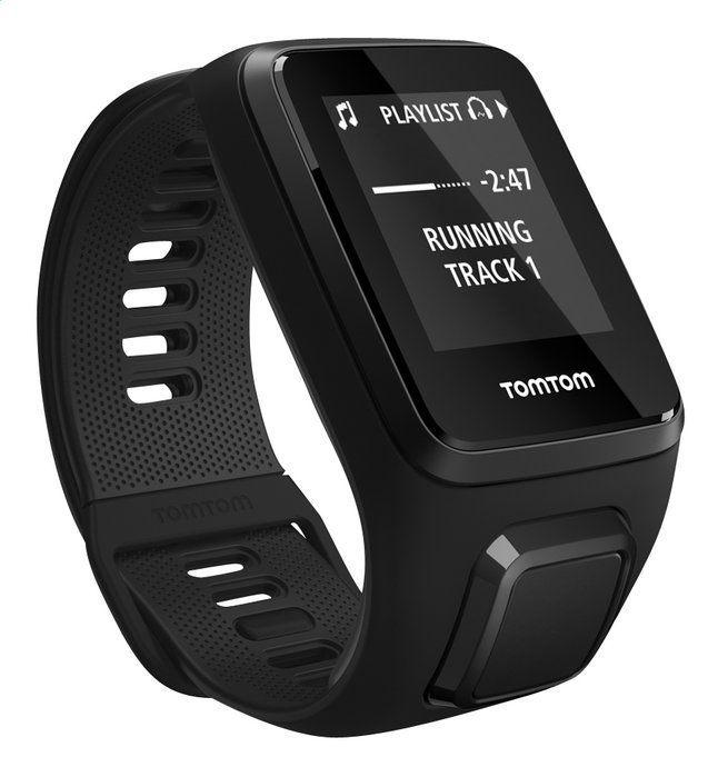 Afbeelding van TomTom Hartslagmeter en GPS Spark 3 Cardio + Music en Bluetooth Headphones zwart - large from ColliShop
