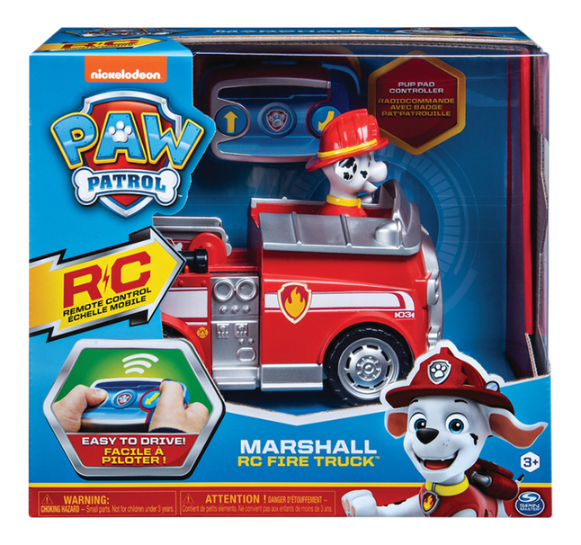Afbeelding van Auto RC PAW Patrol Marshall fire truck from ColliShop