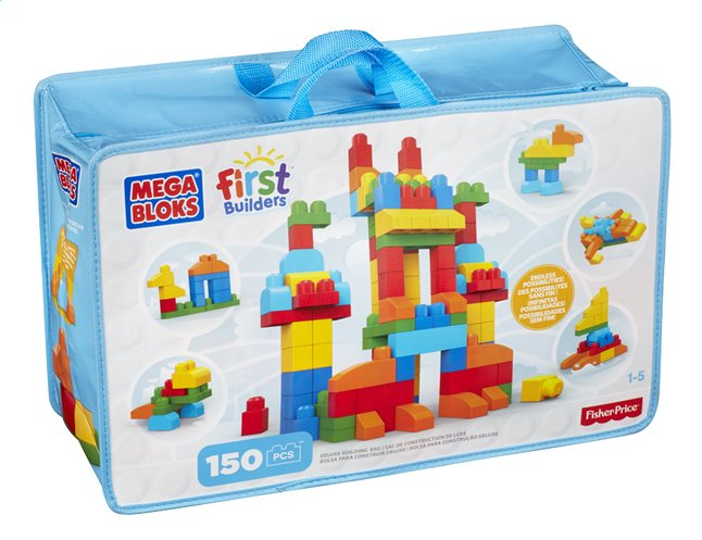 Image pour Mega Bloks First Builders Sac de construction de luxe à partir de ColliShop