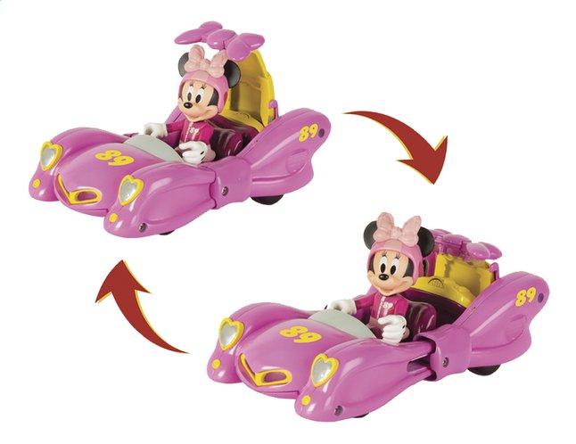 Bolide transformable avec figurine Disney Mickey et ses amis : Top Départ ! Minnie