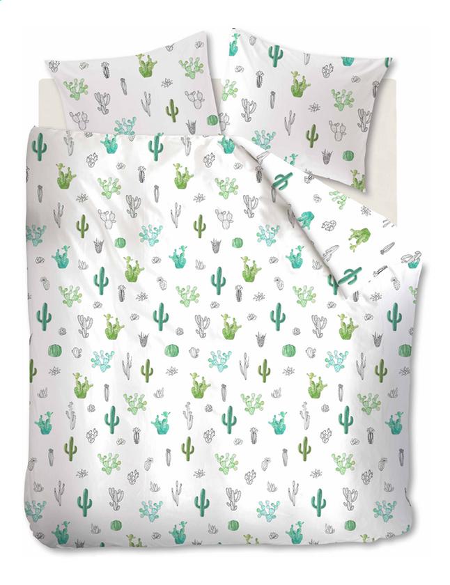 Image pour Ambiante Housse de couette Cactus green coton à partir de ColliShop