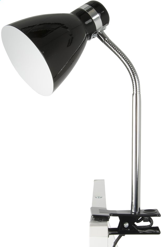 Clip On Lamp zwart