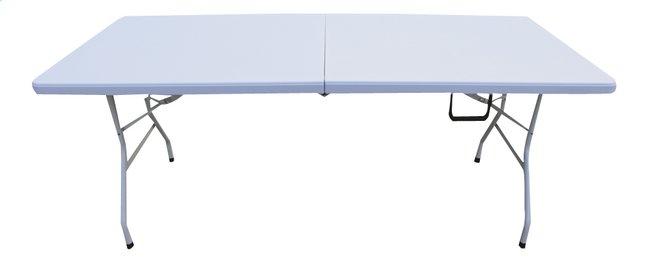 Plooitafel Beau wit L 180 x B 75 cm