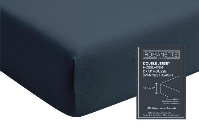 Image pour Romanette Drap-housse teal jersey double à partir de ColliShop