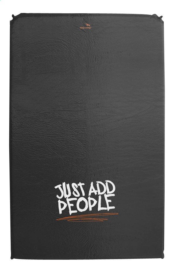 Afbeelding van Easy Camp zelfopblazende luchtmatras voor 2 personen Siesta 5 cm zwart/wit from ColliShop