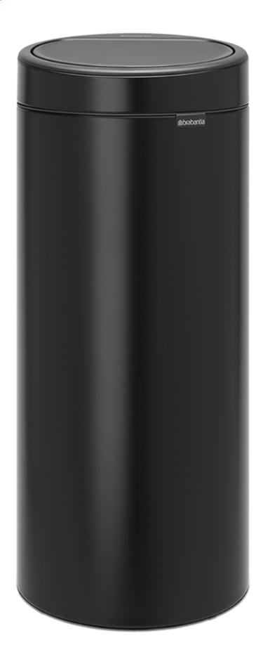 Afbeelding van Brabantia Afvalemmer Touch Bin New matt black 30 l from ColliShop