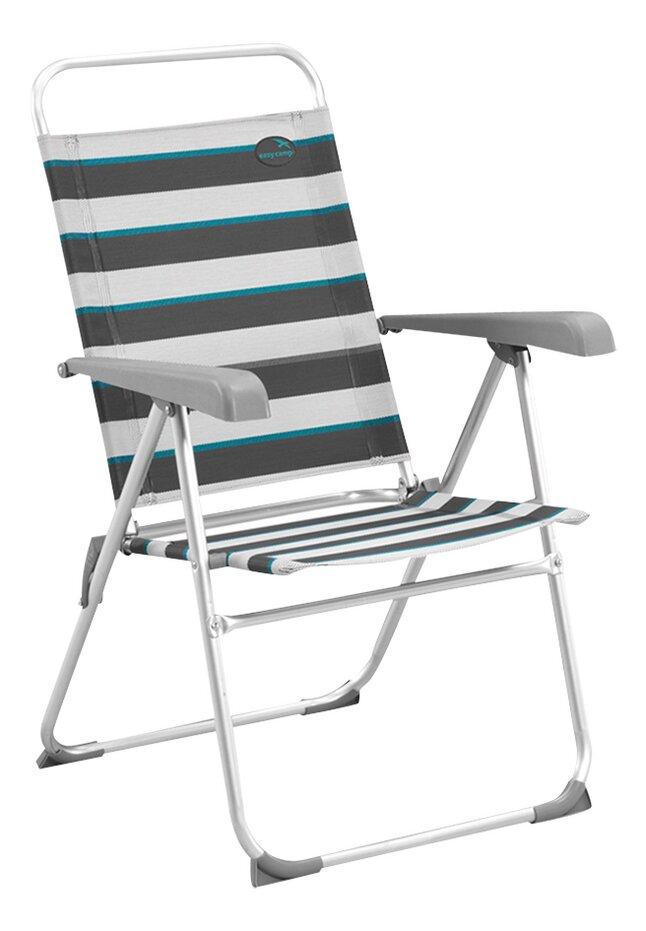 Image pour Easy Camp Chaise de camping Spica gris clair/gris/bleu à partir de ColliShop