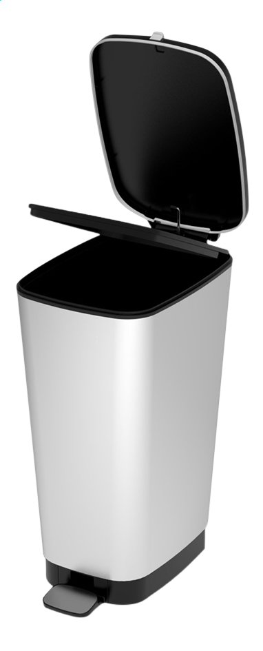 kis poubelle p dale chic bin steel 50 l collishop. Black Bedroom Furniture Sets. Home Design Ideas