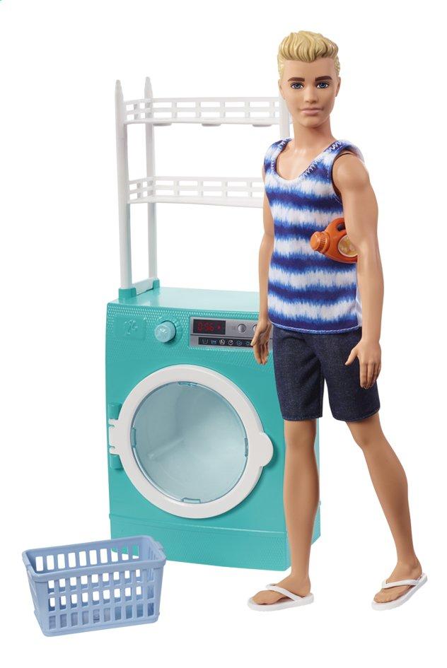 Barbie Ken et la machine à laver
