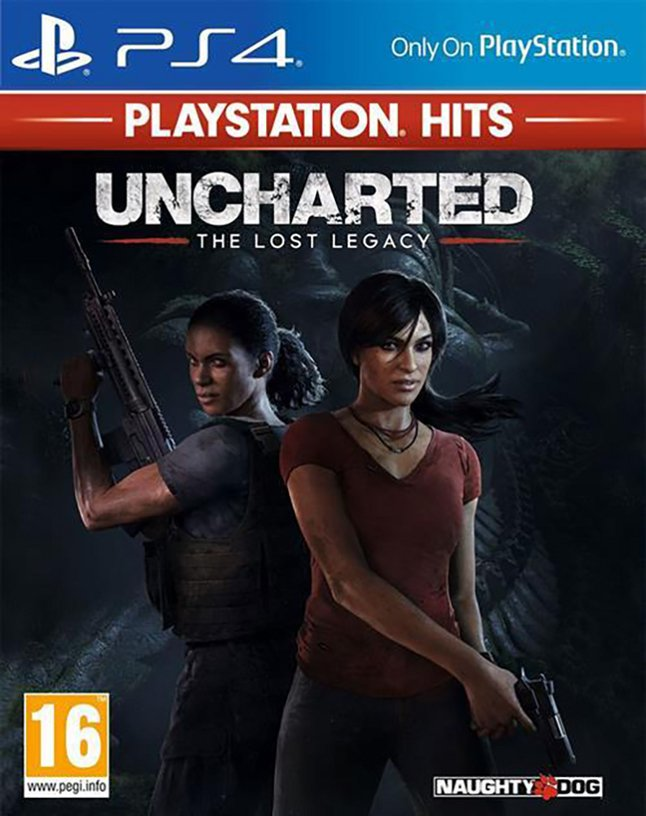 PS4 Uncharted The Lost Legacy PlayStation Hits ENG/FR