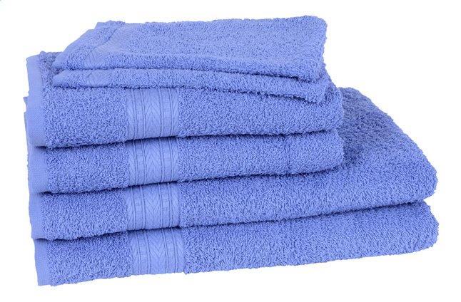 Afbeelding van Jules Clarysse 6-delige handdoekenset Classic blauw from ColliShop