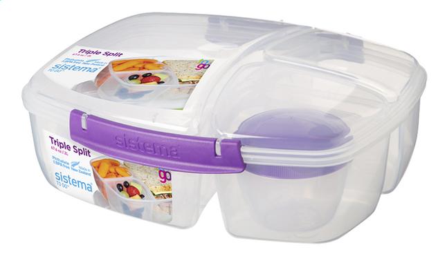 Image pour Sistema Lunchbox Triple Split 2 l à partir de ColliShop
