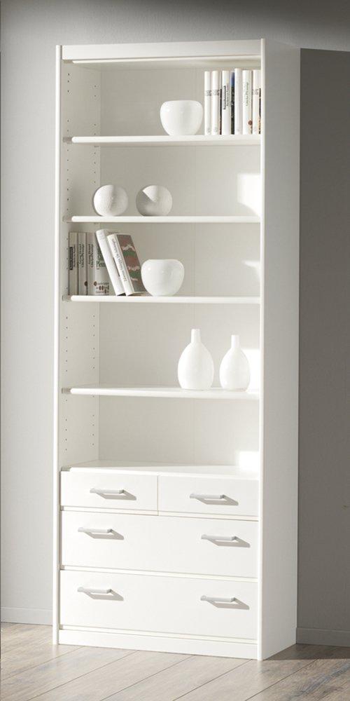 Image pour Armoire de rangement 4 tiroirs Soft Plus H 194 cm blanc à partir de ColliShop