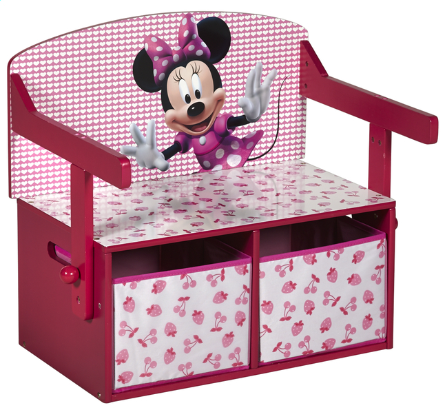 Afbeelding van 3-in-1-bankje Minnie Mouse from ColliShop