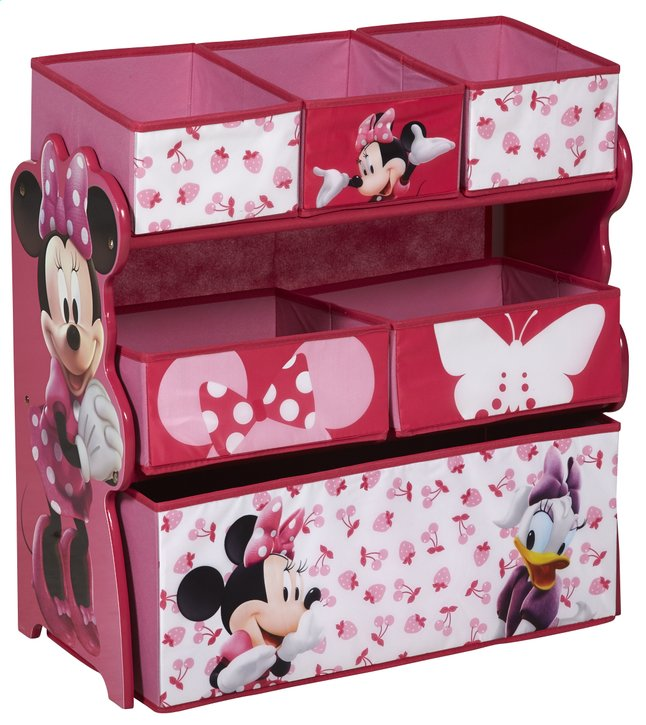 meuble de rangement minnie mouse collishop. Black Bedroom Furniture Sets. Home Design Ideas
