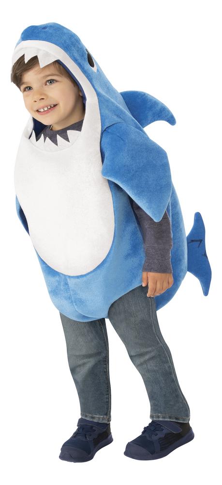 Verkleedpak Baby Shark - Daddy Shark maat 62/68
