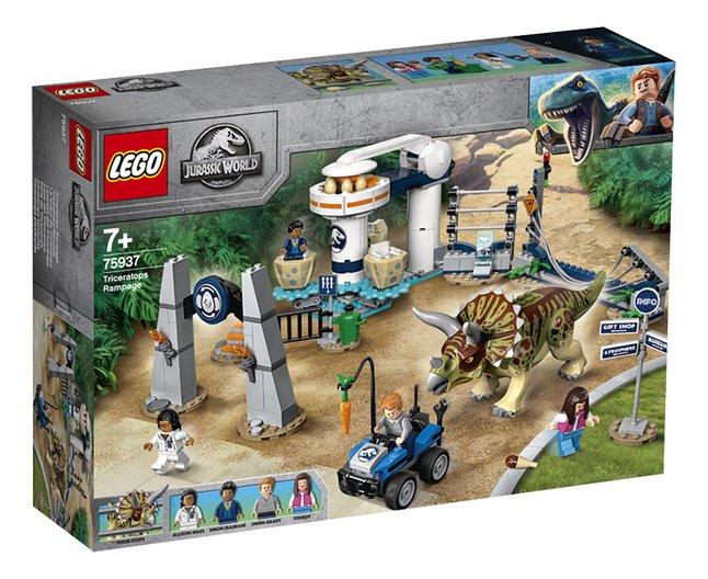 LEGO Jurassic World 75937 La fureur du Tricératops