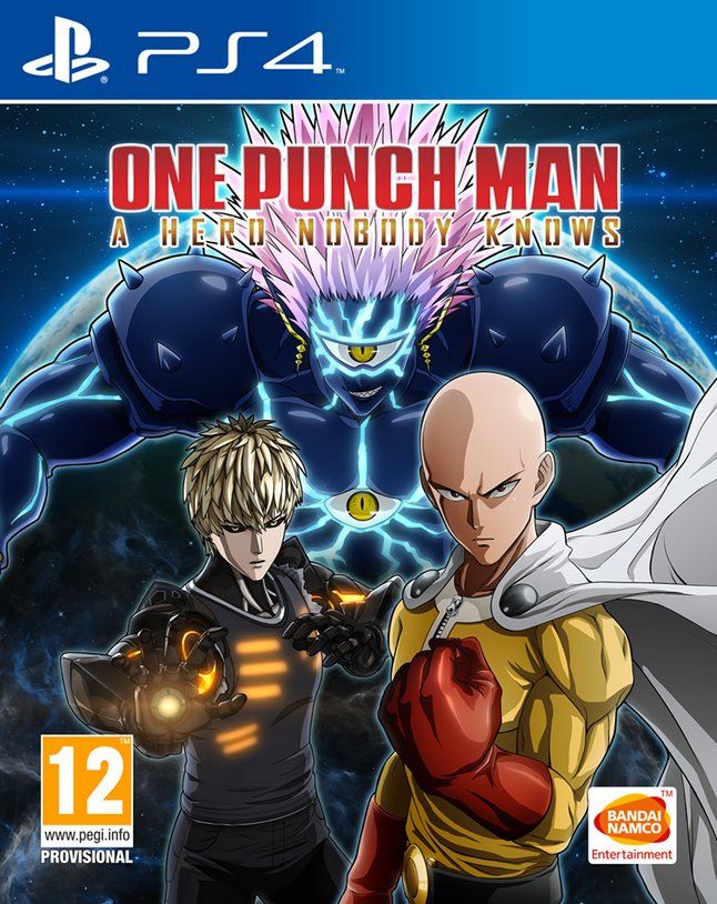 PS4 One Punch Man: A Hero Nobody Knows FR