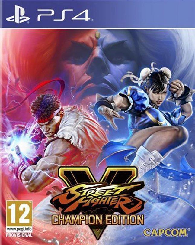 PS4 Street Fighter V Champion Edition FR/ANG