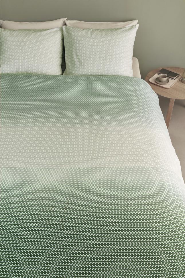 Image pour Beddinghouse Housse de couette Sunkissed green coton 200 x 220 cm à partir de ColliShop