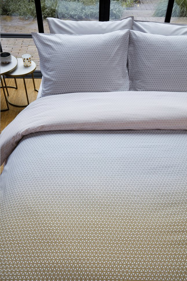 Afbeelding van Beddinghouse Dekbedovertrek Sunkissed grey katoen from ColliShop