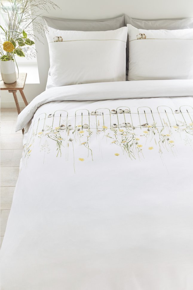 Image pour Marjolein Bastin Housse de couette Garden fence natural coton 260 x 220 cm à partir de ColliShop