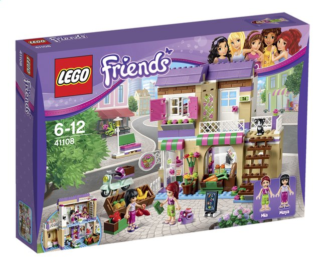 Image pour LEGO Friends 41108 Le marché de Heartlake City à partir de ColliShop
