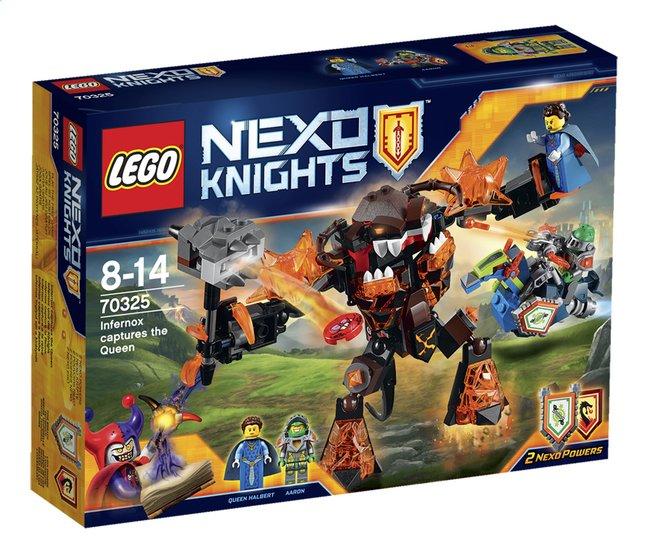 Afbeelding van LEGO Nexo Knights 70325 Infernox neemt de Koningin gevangen from ColliShop