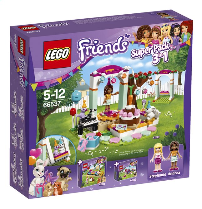 Afbeelding van LEGO Friends 66537 Super Pack 3-in-1 from ColliShop