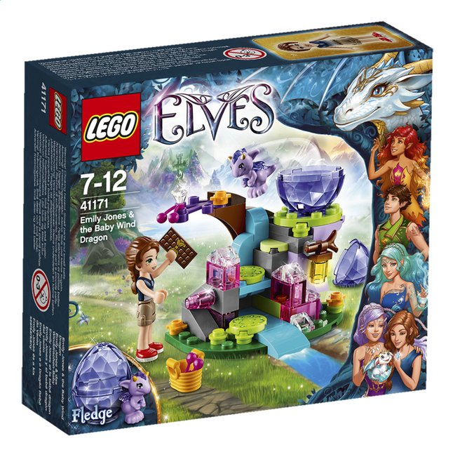 Afbeelding van LEGO Elves 41171 Emily Jones & de baby winddraak from ColliShop