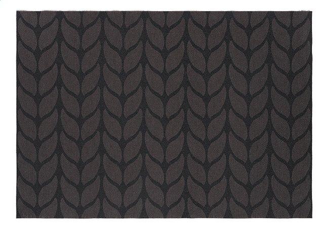 Afbeelding van Day Drap Placemat Non-slip grijs/zwart L 45 x B 32 cm - 2 stuks from ColliShop
