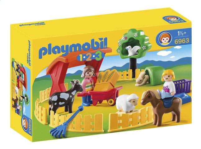 Image pour Playmobil 1.2.3 6963 Parc animalier à partir de ColliShop