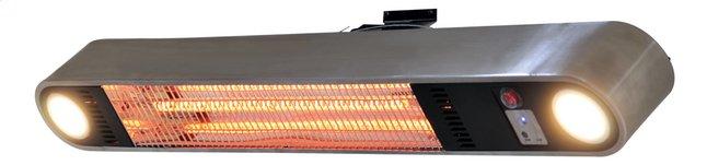Afbeelding van Elektrische terrasverwarmer Ellips 1500 W aluminium from ColliShop