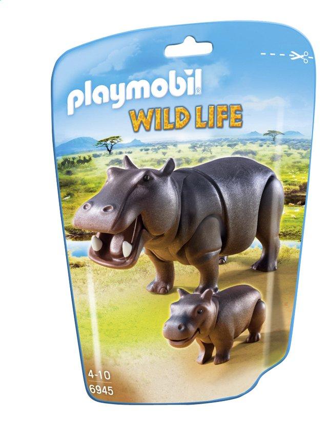 Afbeelding van Playmobil Wild Life 6945 Nijlpaard met jong from ColliShop