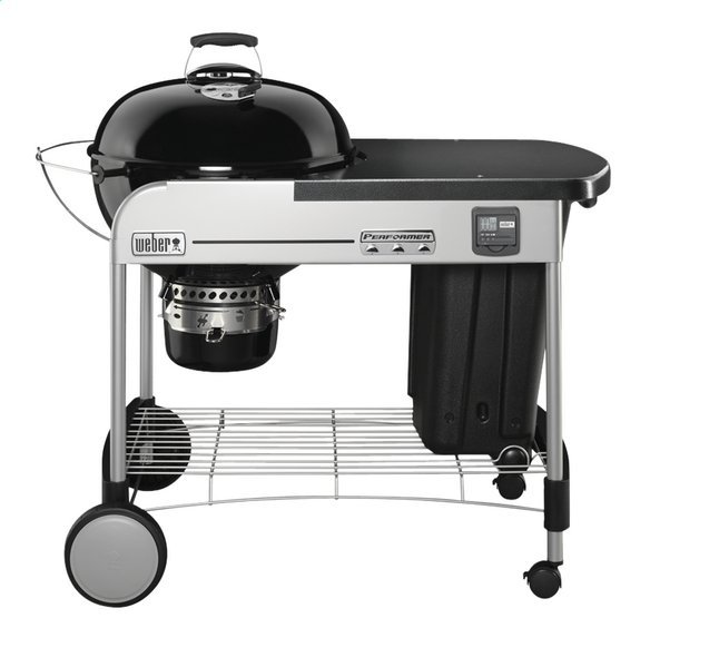 Afbeelding van Weber Houtskoolbarbecue Performer Premium GBS system edition 57 cm black from ColliShop