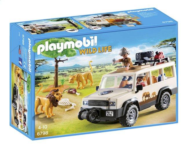 Afbeelding van Playmobil Wild Life 6798 Safari 4x4 met lier from ColliShop