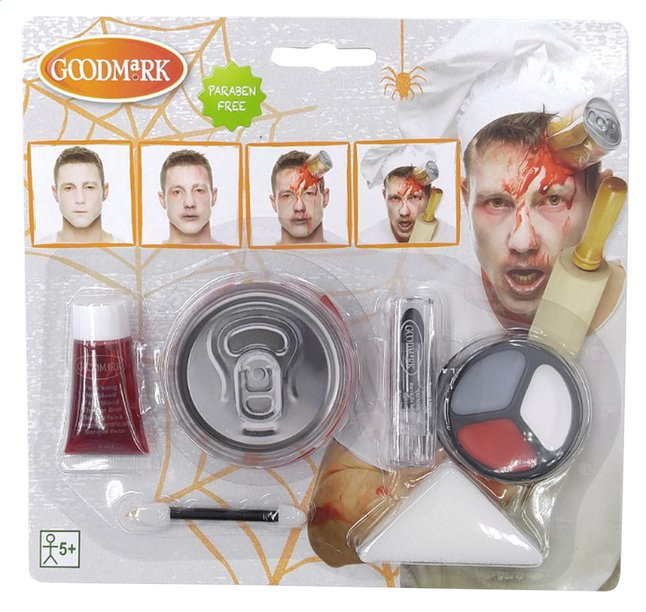 Afbeelding van Goodmark make-up-set Zombie Chef from ColliShop