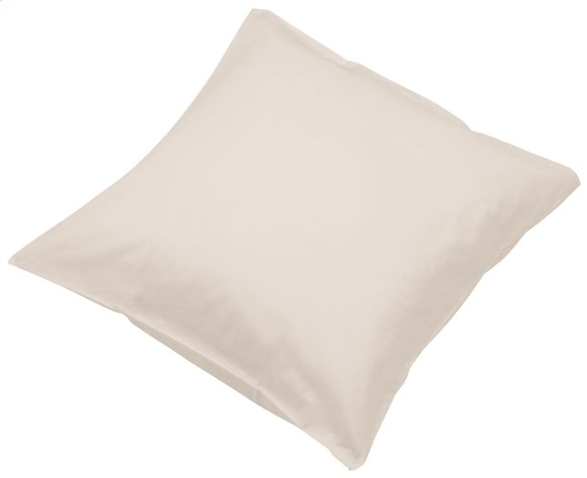 Image pour Sleepnight set de 2 taies d'oreiller café au lait en coton à partir de ColliShop