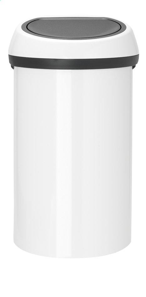 Image pour Brabantia poubelle Touch Bin blanc 60 l à partir de ColliShop