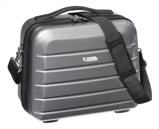 Image pour Check.In Beauty-case London 2.0 carbon silver à partir de ColliShop