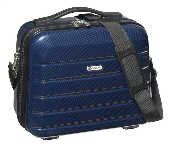 Afbeelding van Check.In Beautycase London 2.0 carbon blue from ColliShop