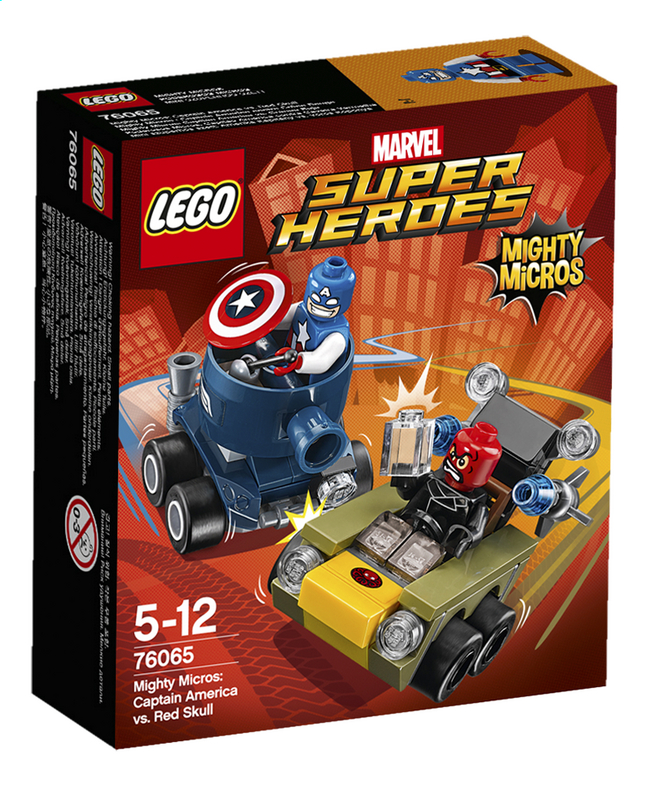Afbeelding van LEGO Super Heroes 76065 Mighty Micros: Captain America vs. Red skull from ColliShop