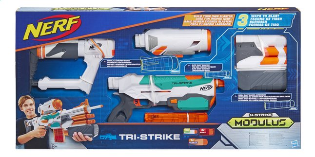 Image pour Nerf fusil Modulus N-Strike Tri-Strike à partir de ColliShop