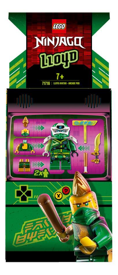 LEGO Ninjago 71716 Avatar Lloyd - Capsule Arcade